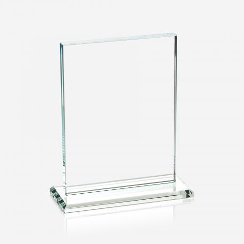 Blue Glass Award Plaque