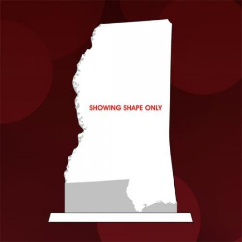 State of Mississippi Jade Glass Award