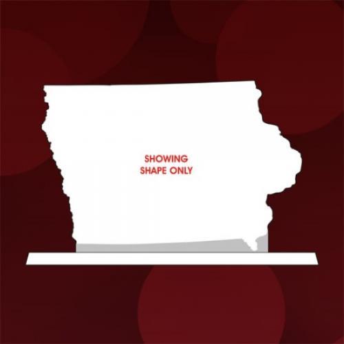 State of Iowa Jade Glass Award