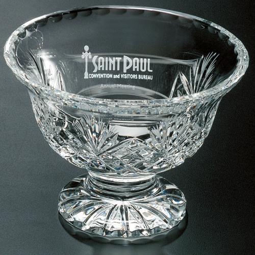 Durham Optical Crystal Trophy Bowl