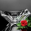 Capri Clear Optical Crystal Bowl Award
